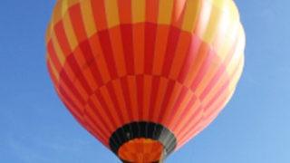 すがすがしい朝に熱気球係留フライトで空へ!